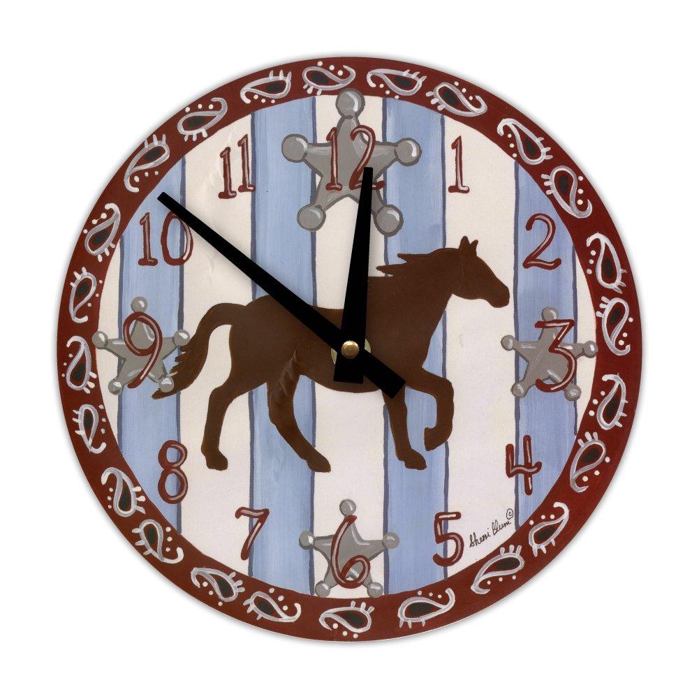 Wall Clock, Sherri Blum, Western