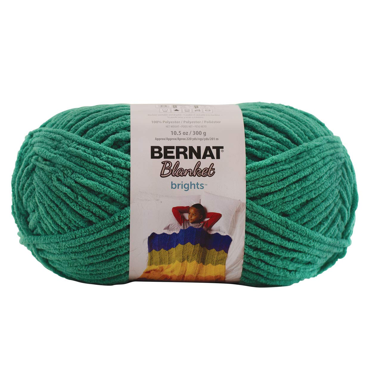 Bernat Blanket Brights Go Go Green