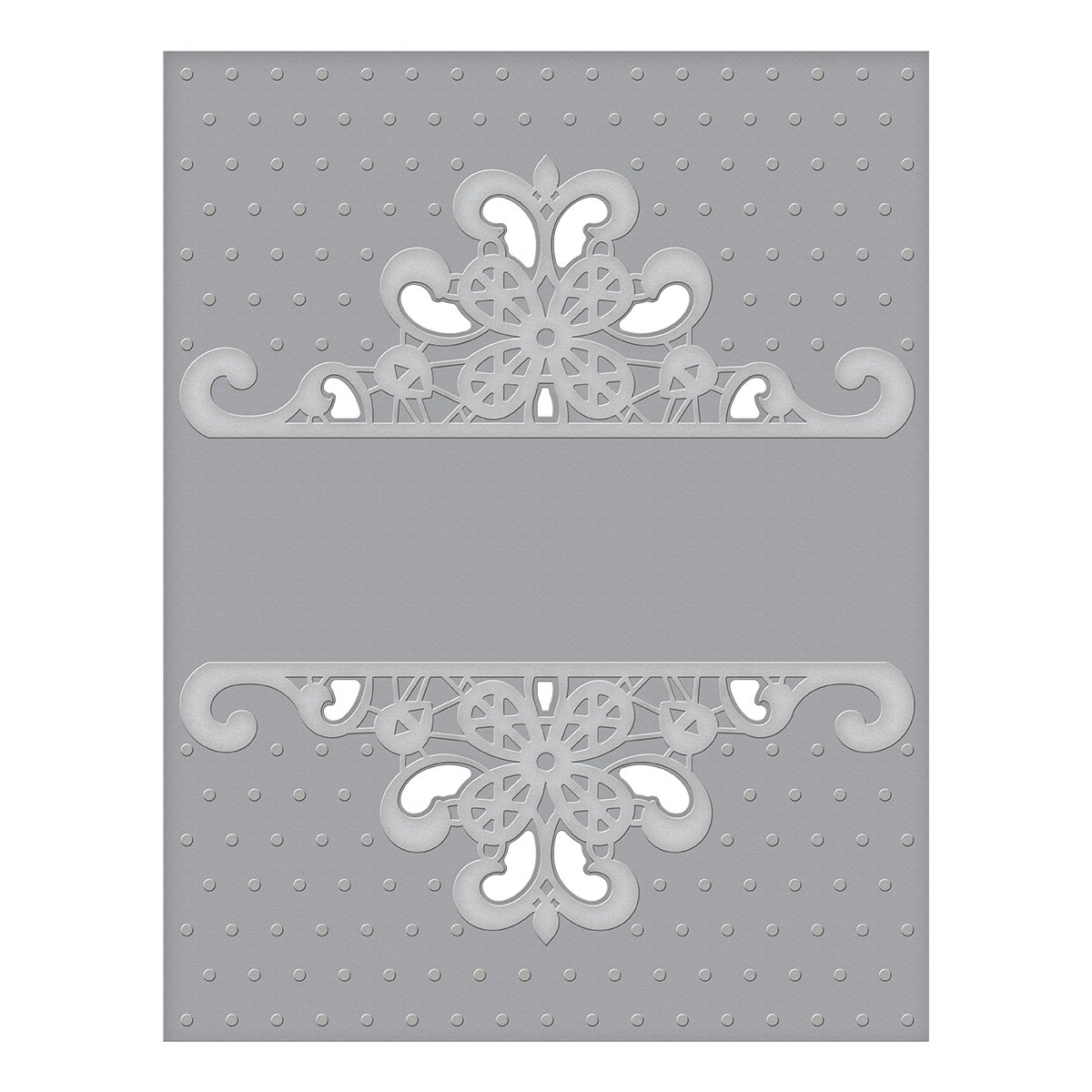 Spellbinders CEF-007 Dotted Lace Cut and Emboss Folder