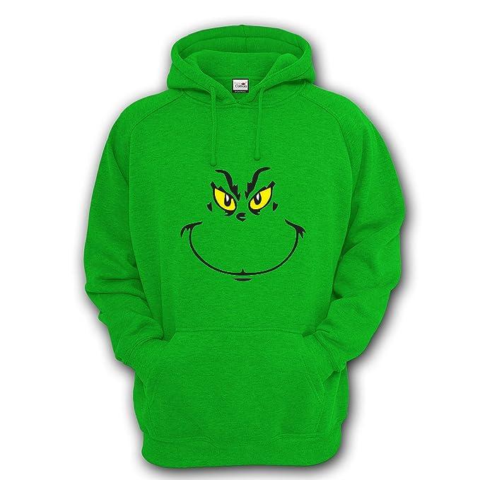 Sudadera con capucha inspirada en El Grinch, ideal para Navidad, para adultos y niños, Unisex: Amazon.es: Ropa y accesorios