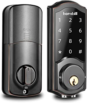 Hornbill Keyless Entry Electronic Door Locks with Keypads
