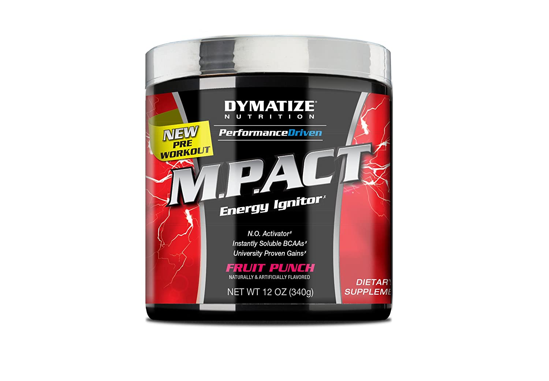 Pre workout dymatize