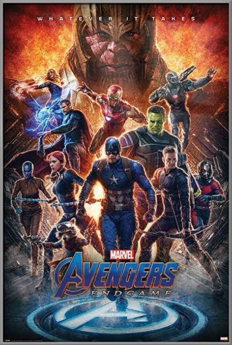 poster stop online avengers endgame framed movie poster whatever it takes thanos the avengers size 24 x 36