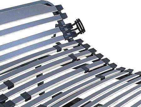 Duérmete Online Cama Articulada Eléctrica 5 Planos Bastidor Reforzado y Taco de Caucho, Madera, 150 x 200 (2 Camas + Accesorios unión)