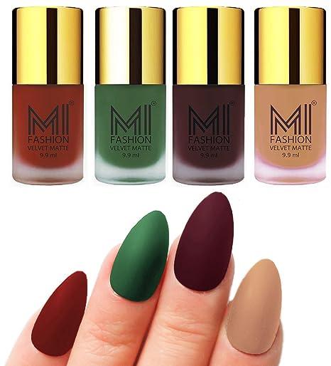 Matte Nail Polish Shades By MI FashionR