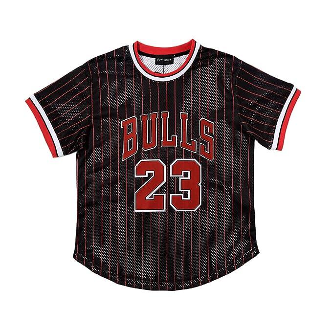 Chicago Bulls Michael Jordan Hombres Jersey Retro Hombre ...
