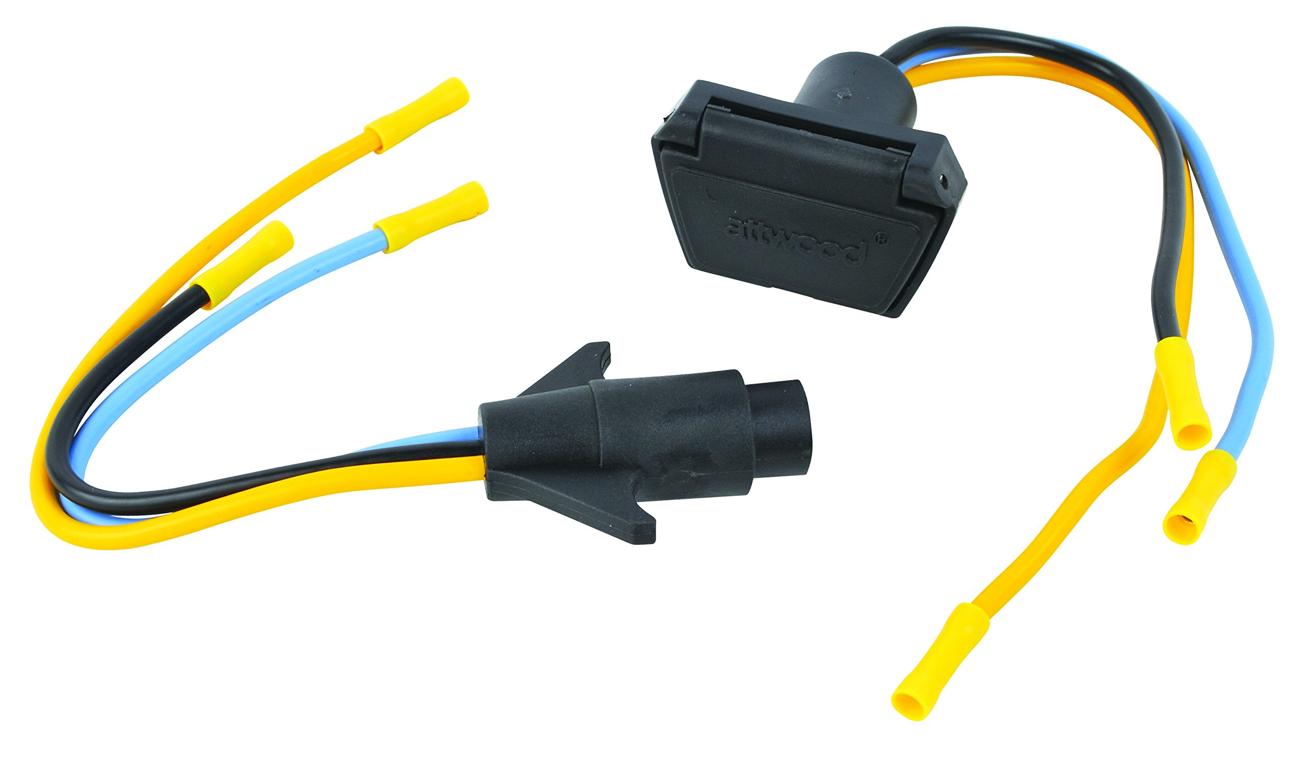 12V/24V 3-Wire Trolling Motor Connector, 10 Gauge