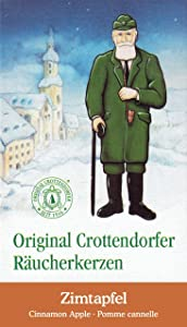 Pinnacle Peak Trading Company Crottendorfer Cinnamon Apple Scent German Incense Cones for Christmas Smokers