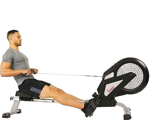 Sunny Air Rower Rowing Machine