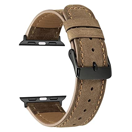 Correa Funda para Apple Watch 42MM/44MM, MeganStore Correa ...