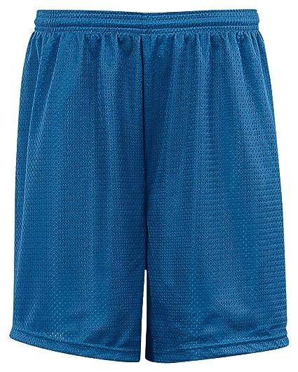 Badger Big Boys Elastic Waist Solid Tricot Liner Mesh Shorts