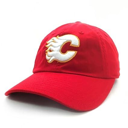 f7e94a82109 Amazon.com   Calgary Flames NHL Hockey Cap American Needle Cotton ...