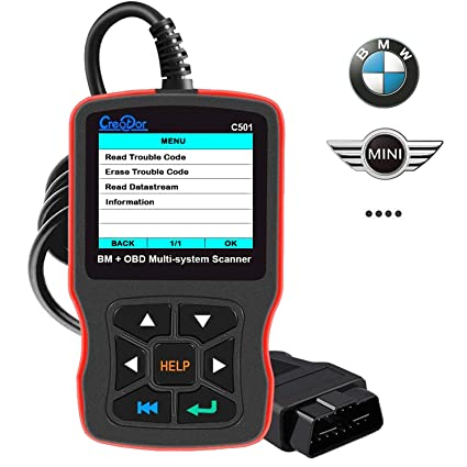 Amazoncom Creator C501 Obd2 Diagnostic Scanner For Bmw Mini Cooper