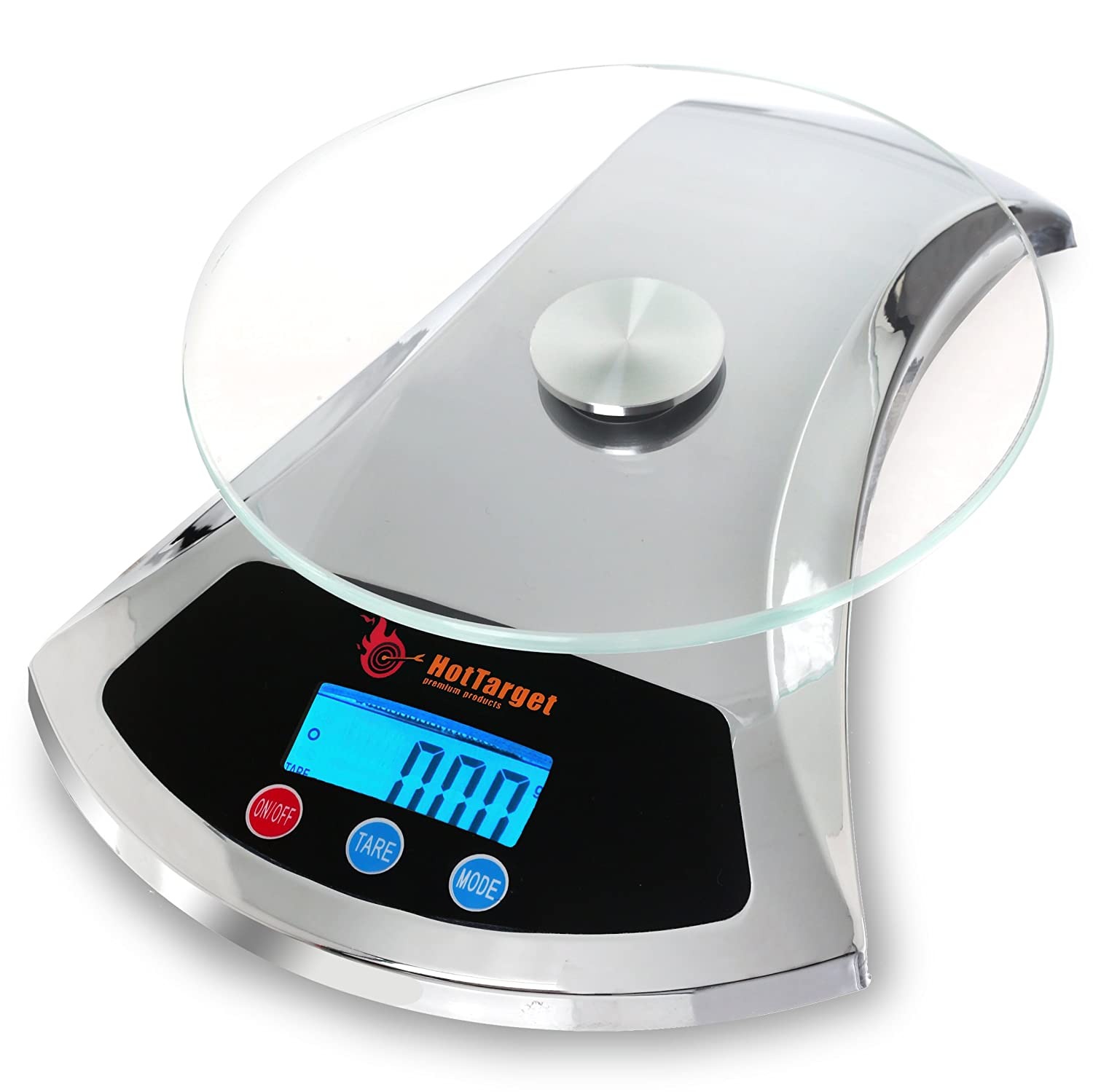Amazon.com: Hot Target Elegant Digital Kitchen Scale with Extra ...