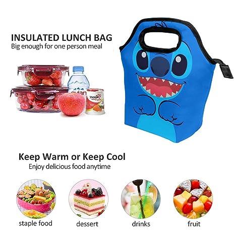 Amazon.com: Bolsa de almuerzo con bonito diseño de punto ...