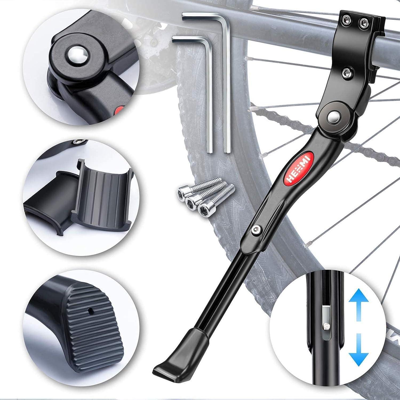 per bambini AISHEMI 18 16 Cavalletto in lega per bicicletta singolo antiscivolo 16 supporto posteriore per bici da 14