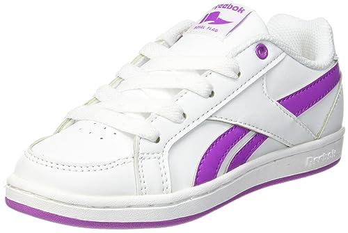 Reebok Royal Prime, Zapatillas de Deporte para Mujer, Blanco (Blanco/(White/Vicious Violet) 000), 36.5 EU