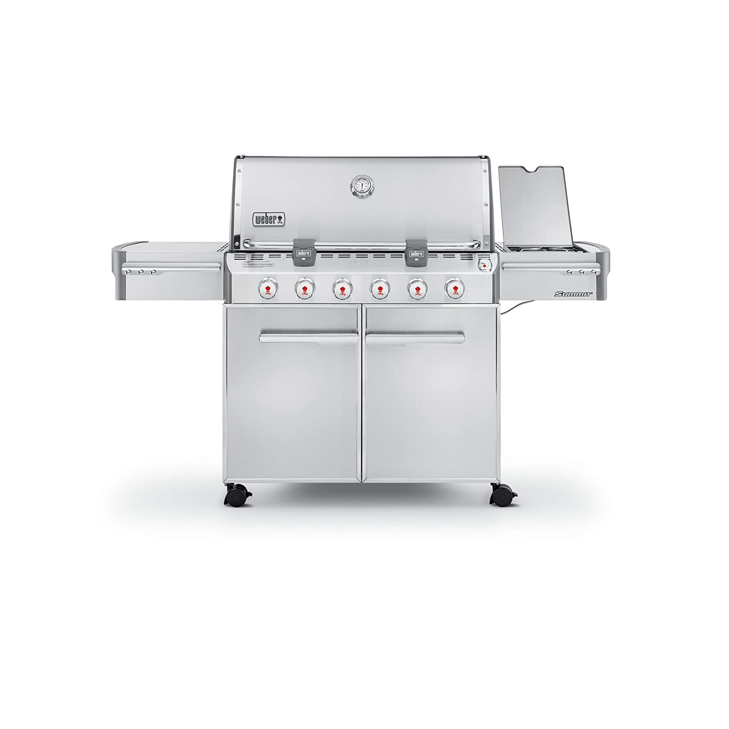weber summit s 620 stainless steel 838 square
