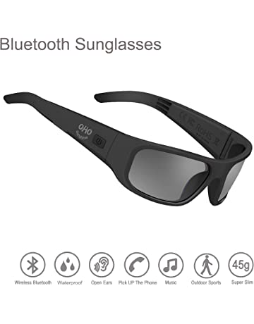 4f26ed16db84e7 OhO sunshine Waterproof Audio Sunglasses,Open Ear Bluetooth Sunglasses to  Listen Music and Make Phone