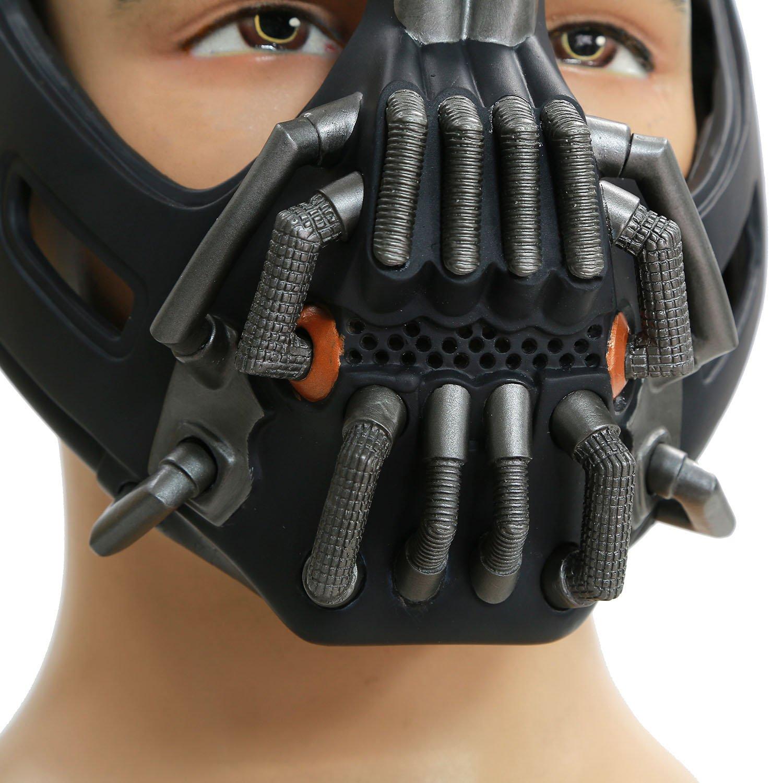 Amazon.com: Updated Adult TDKR Bane Mask Prop for Halloween ...