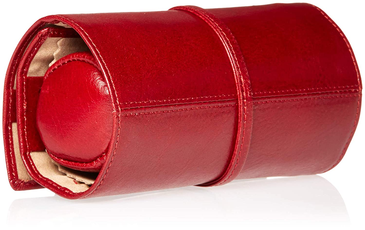 Tony Perotti Italian Bull Leather Grande Jewelry Roll Travel Organizer