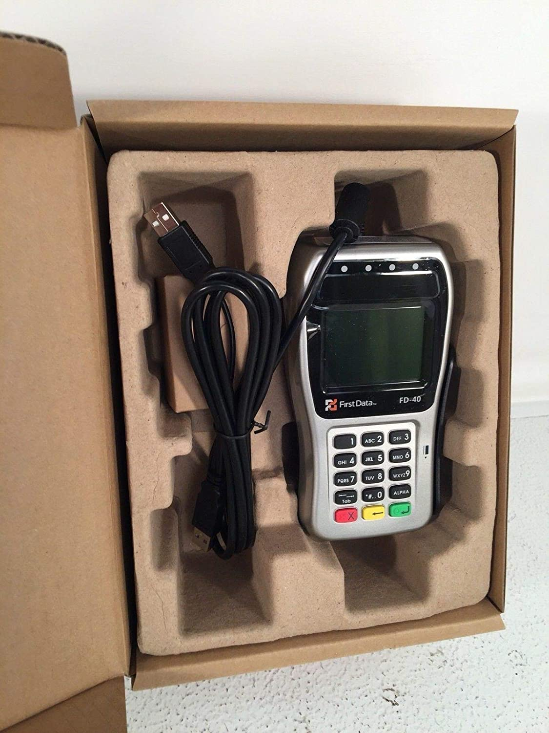 Amazon com : First Data FD-40 EMV PIN Pad Clover Station