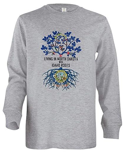 Tenacitee Babys Living in Idaho Montana Roots Shirt