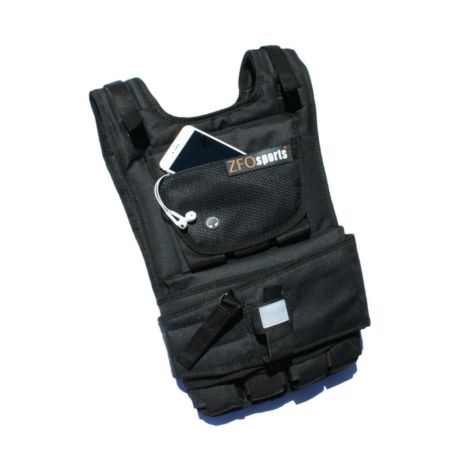 ZFOsports Weighted Vest 40lbs/60lbs/80lbs (60lbs) by ZFOsports (Image #2)