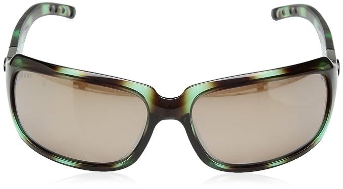 02eae9920f Amazon.com  Costa Del Mar Isabela Sunglasses Shiny Seagrass Copper Silver  Mirror 580Glass  Sports   Outdoors