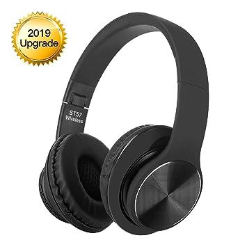 WDGP Auriculares Bluetooth, Auriculares inalámbricos, Llamadas Manos Libres, cancelación de Ruido estéreo de Alta fidelidad, para iPhone, Samsung, ...
