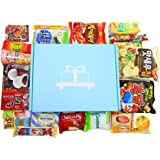 Deluxe Asian Snack Box (22 Count)   Variety Assortment of Japanese Candy, Korean Snacks and More!   College Care Package   Gift Care Package