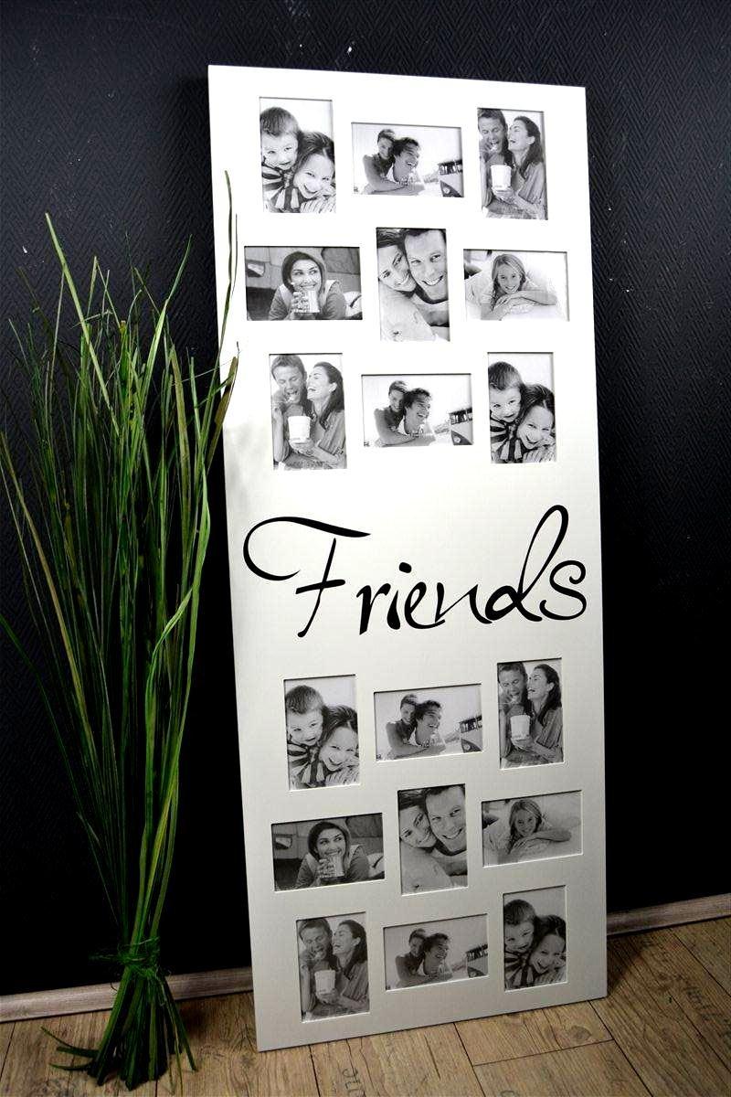 Bilderrahmen Fotorahmen Fotogalerie FRIENDS 18 Fotos XXL 122 cm hoch ...