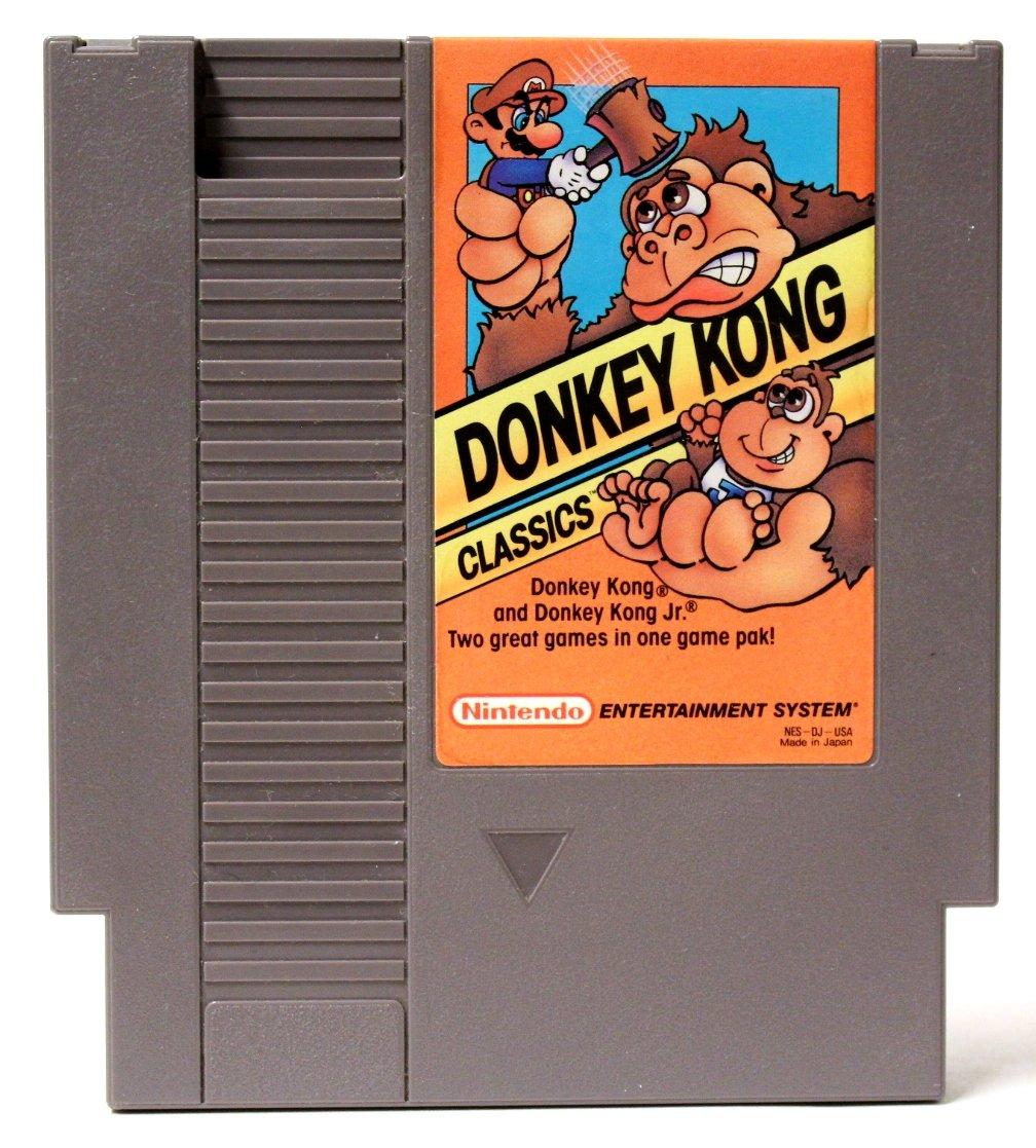 donkey kong classics nes rom