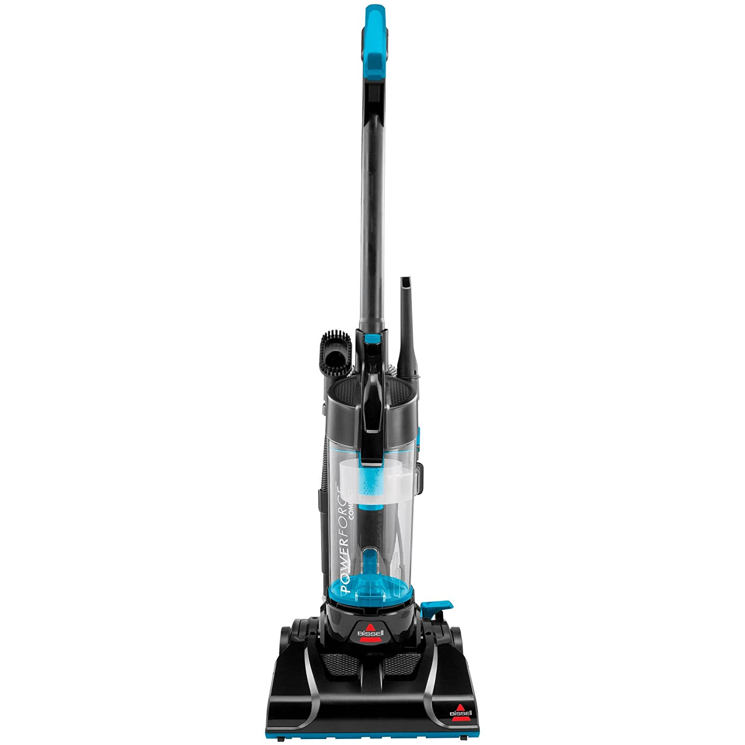 Shop amazon stick vacuums electric brooms bissell powerforce lightweight compact corded bagless cyclonic upright vacuum cleaner blue fandeluxe Gallery
