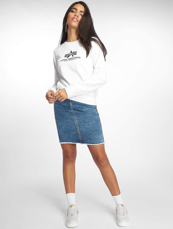 ALPHA INDUSTRIES Damen Pullover New Basic