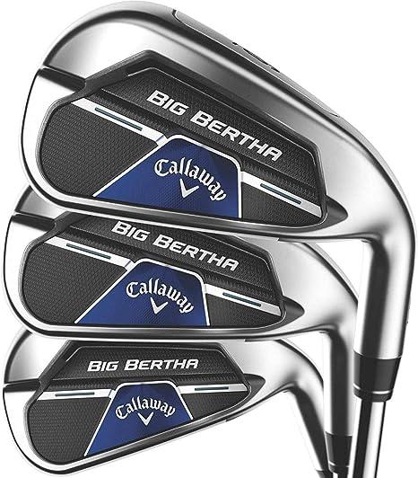 Callaway Big Bertha B21 Iron Set (Right, Steel, Regular, 5IR - PW) , Silver