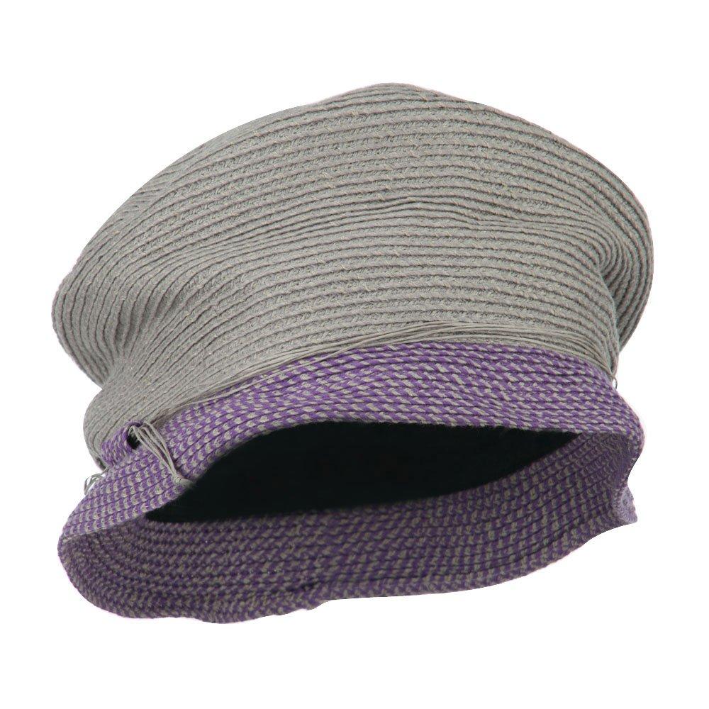 Jeanne Simmons Woman's Tweed Bucket Hat - Taupe Lavender OSFM