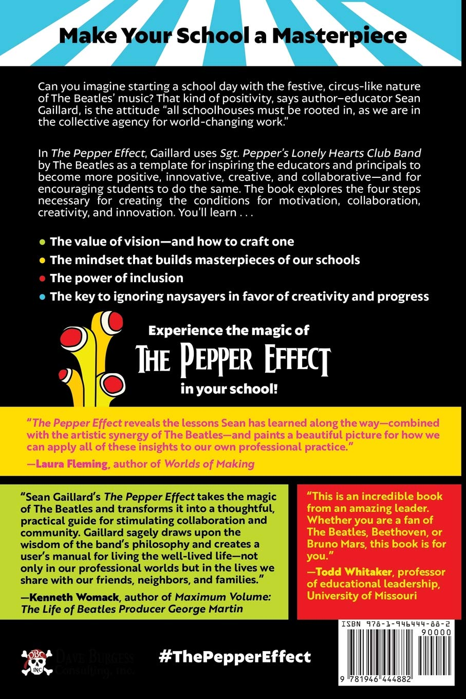 The Pepper Effect: Tap into the Magic of Creativity, Collaboration, and  Innovation: Sean Gaillard: 9781946444882: Amazon.com: Books