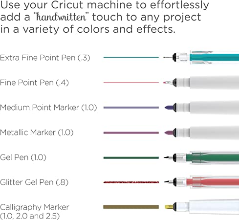 Antiquity Fine Point Pen Set Cricut Pens