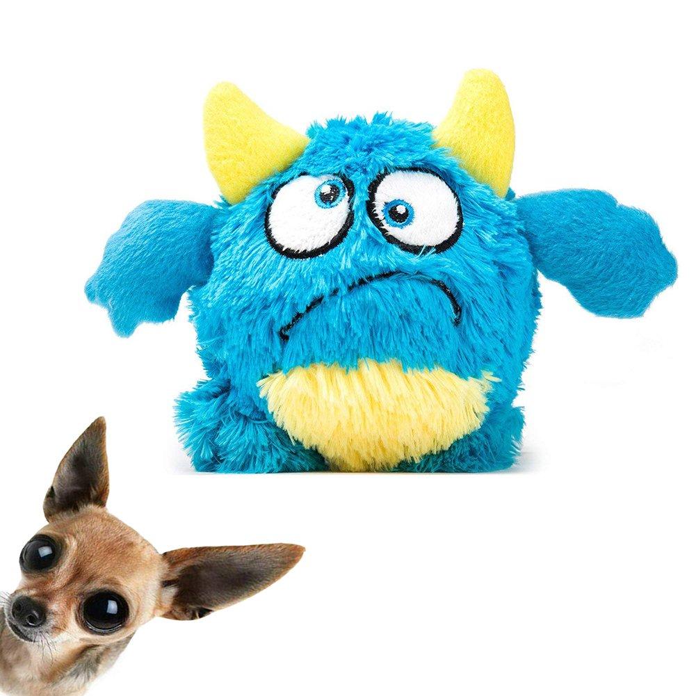 wangfuyang Dog Toy Plush Chew Toys Non-toxic Plush Doll Stuffed Animal Toy interactive Shake Plush Pet Toys Bouncer Dog Toys For Exercise Entertainment