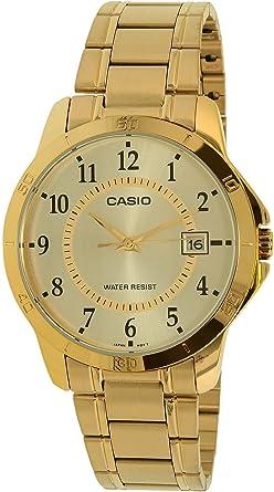 Casio Reloj con Movimiento Cuarzo japonés Man MTP+V004G.9B 40 mm: Casio: Amazon.es: Relojes