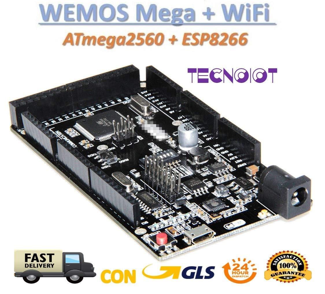 Mega WiFi R3 ATmega2560 ESP8266 32Mb Memory USB-TTL CH340G For Arduino WeMOS