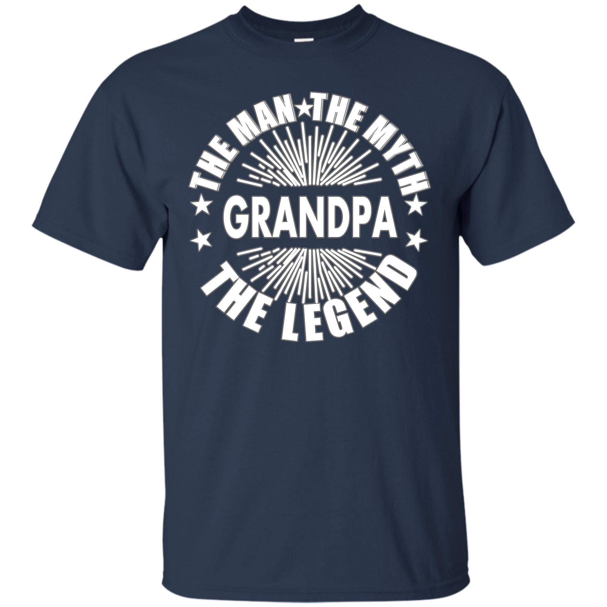 Grandpa The Man The Myth The Legend T Shirt Best Gift For Grandpa Father 7949
