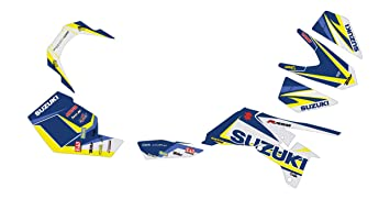 Kit Deco Quad Suzuki 450 LTR Vector Blanco Carbono/Azul ...