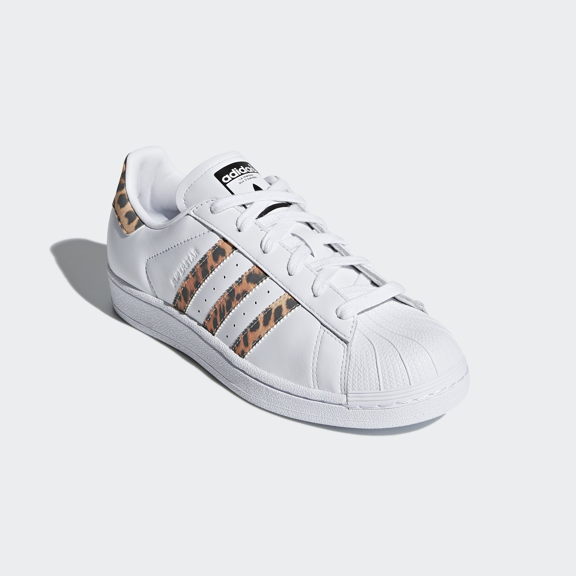 adidas Originals Women's Superstar W Sneaker, FTWR White, Supplier Colour, Core Black, 9 M US