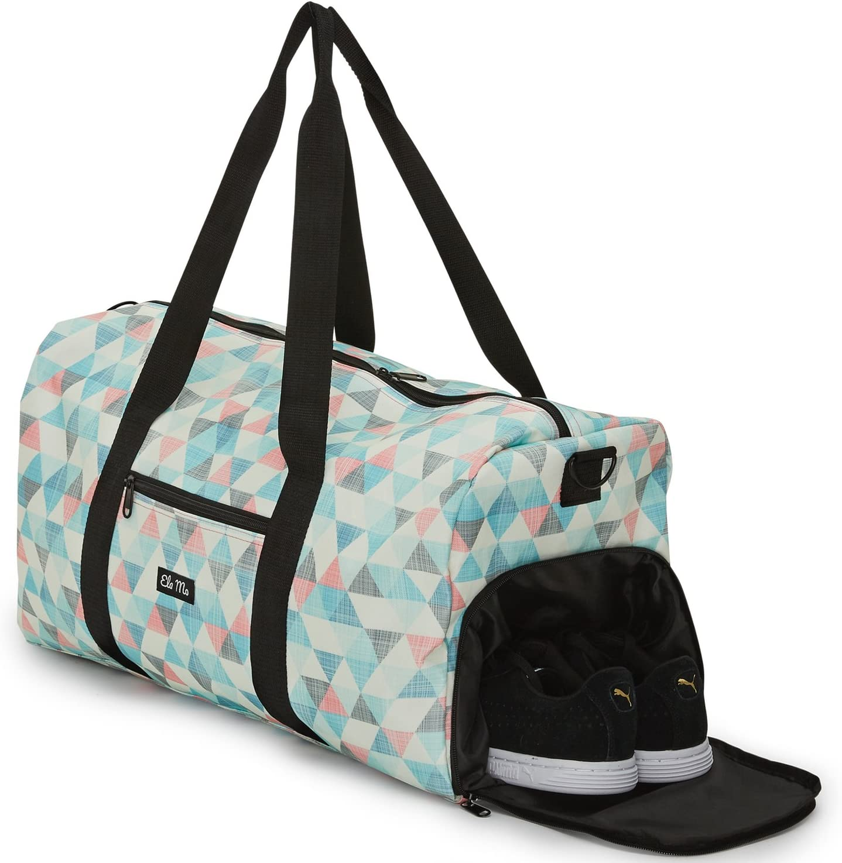 Elegante bolso deportivo Ela Mo, bolsa de viaje con compartiment para zapatos, maletín de mano de 38 l, Weekender, unisex, en 6 diseños de moda