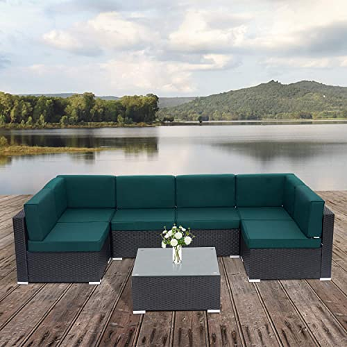 Kinsunny 7 PCs Patio Furniture Set