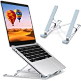 STOON Laptop Stand, Laptop Holder Riser Computer Stand, Aluminum 9-Angles Adjustable Ventilated Cooling Notebook Stand…