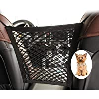 Homesister Car Dog/Kids Barrier Nets, Storage Barrier Nets in Front Seat of Universal Cars, Thickened and Durable…