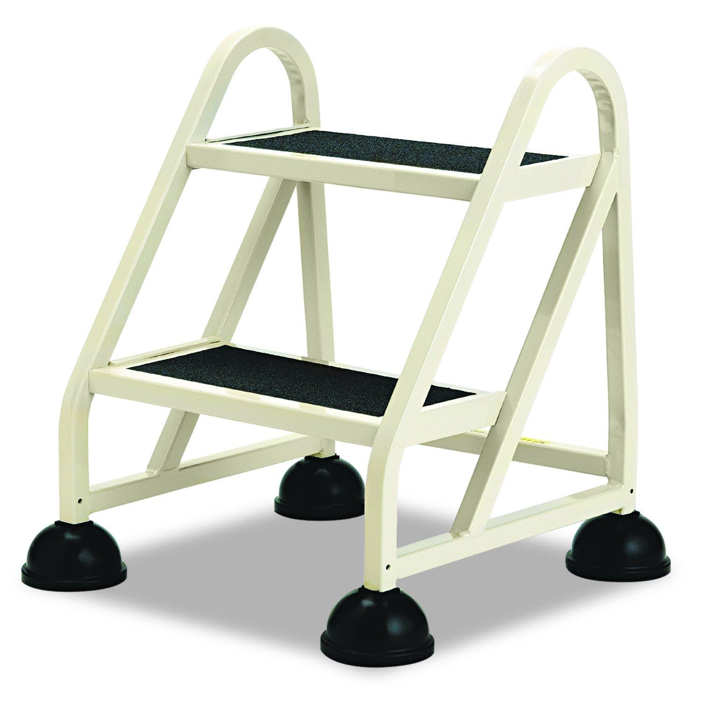 Cramer 102019 Two Step Stop Step Aluminum Ladder 23 High Beige